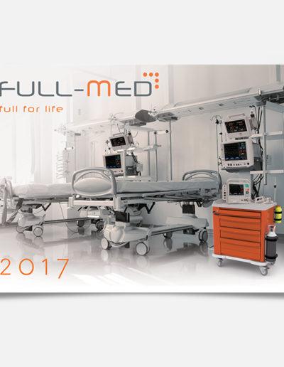 Full-Med kalendarz trójdzielny - główka