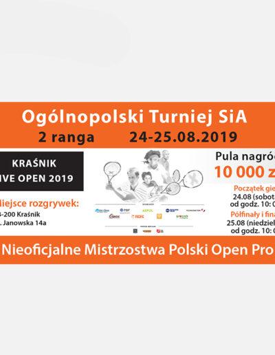 Turniej tenisowy SiA Facebook